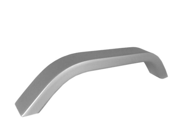 Baldų rankenėlė R00011 (128mm, anoduotas aliuminis)