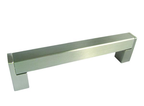 Baldų rankenėlė R00124 (128mm, Šlifuotas nikelis)