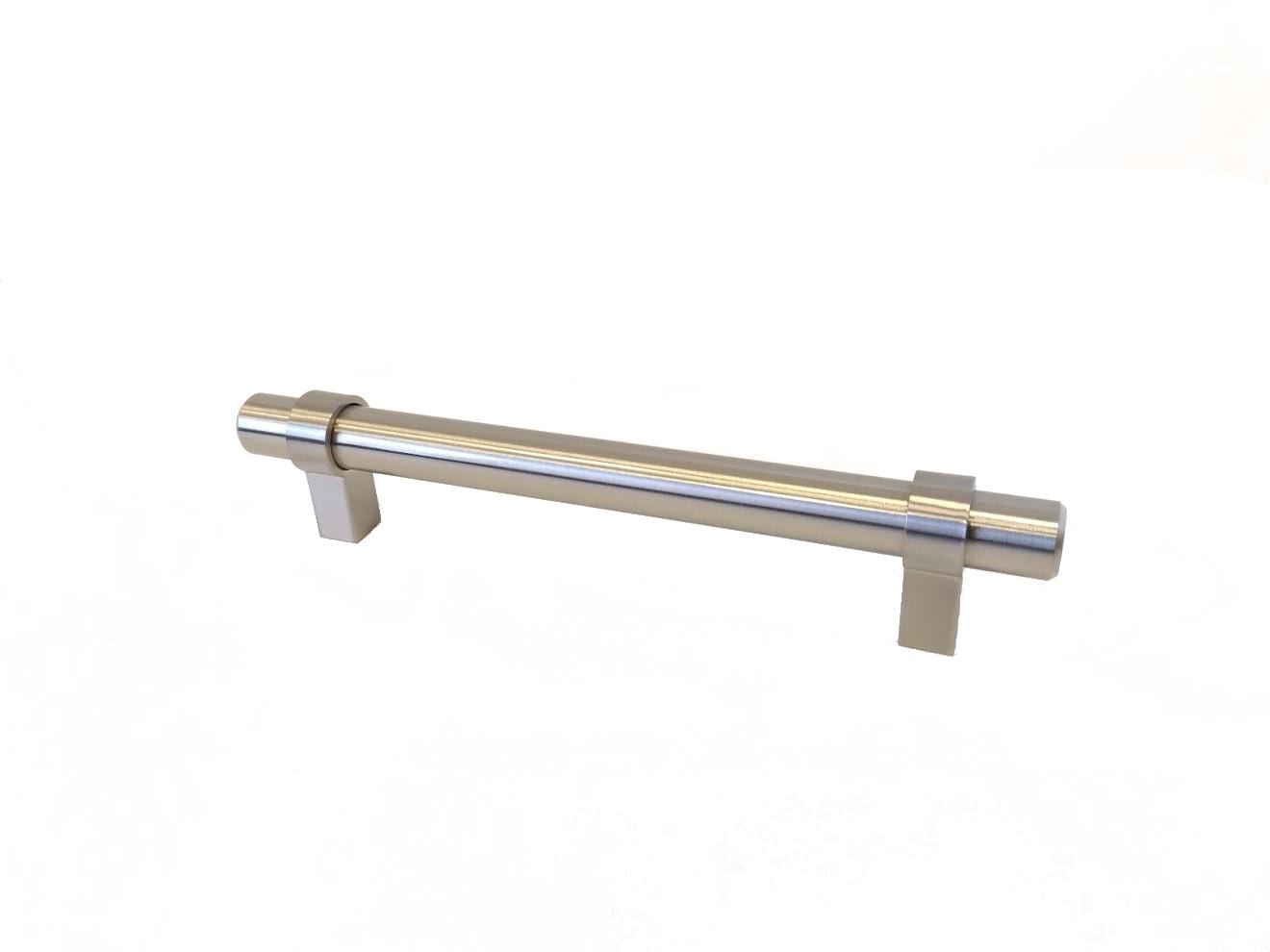 Baldų rankenėlė R00054 (128mm, šlifuotas plienas)